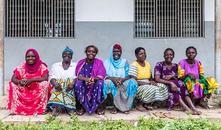 Il gruppo di donne della Cooperativa